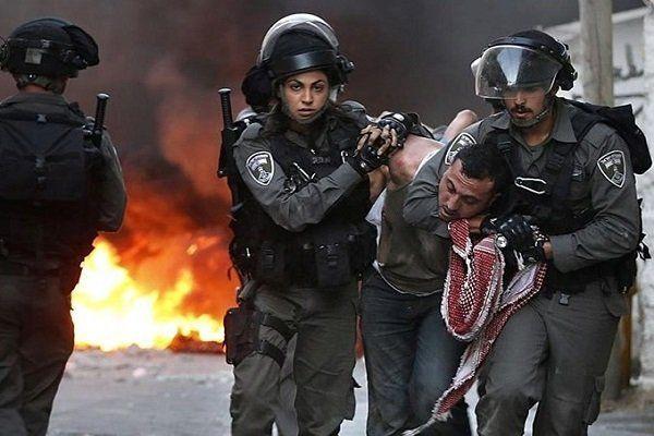 حمله وحشیانه نظامیان رژیم صهیونیستی به فلسطینی ها