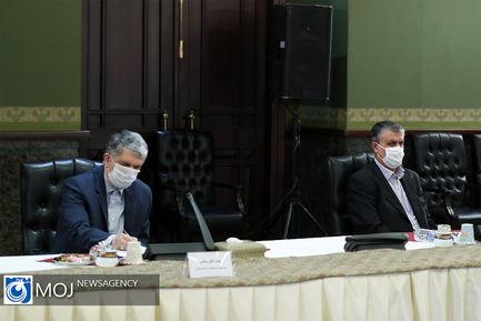 جلسه ستاد ملی مقابله با کرونا - ۵ تیر ۱۴۰۰