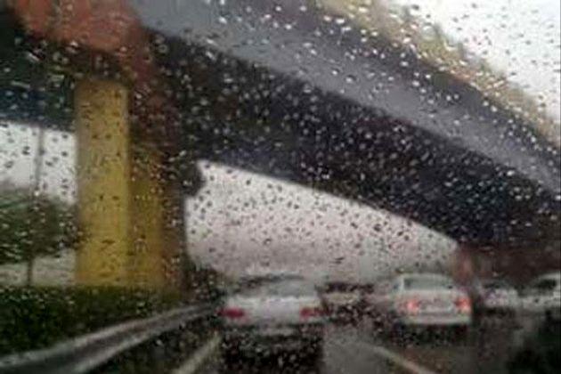 ورود سامانه بارشی جدید به کشور از دوشنبه