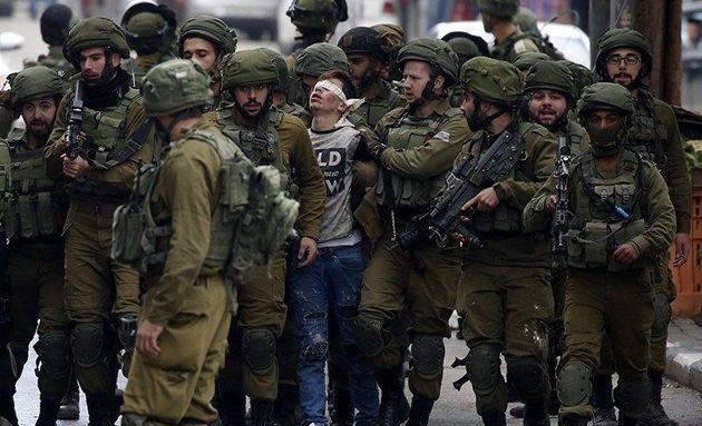 یورش نظامیان رژیم صهیونیستی به کرانه باختری