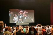 واکنش خوب تماشاچیان به فیلم اصغر فرهادی در اولین اکران/ قهرمان از گزینه های نخل طلا است