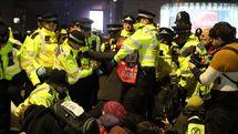 بازداشت 570 نفر در تظاهرات مخالفان تغییرات آب و هوایی در انگلیس