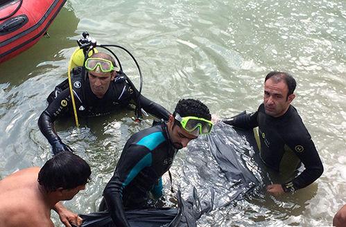 پیکر  دو جوان غرق شده در رودخانه قاضیان سنگر پیدا شد