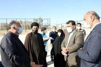 بازدید اعضای شورای شهر یزد از پروژه های عمرانی سازمان فرهنگی اجتماعی ورزشی شهرداری