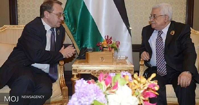 میخائل بوگدانف با محمود عباس گفت وگو کرد
