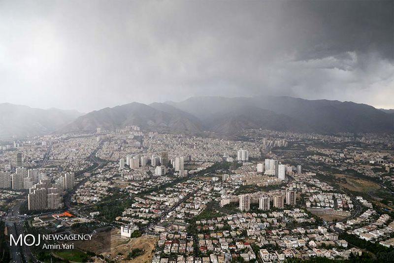 کیفیت هوای تهران در 9 مرداد سالم است