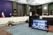 روحانی در جریان آخرین وضعیت این ۴ استان برای مقابله با کرونا قرار گرفت