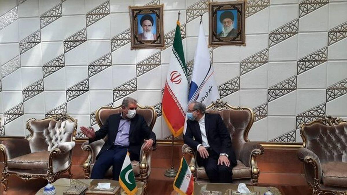 وزیر امور خارجه پاکستان عصر امروز وارد تهران شد