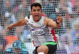 احسان حدادی در مسابقات پرتاب دیسک چولیویستا قهرمان شد