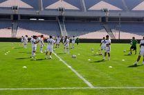 تمرین تیم ملی فوتبال در غیاب سامان قدوس برگزار شد