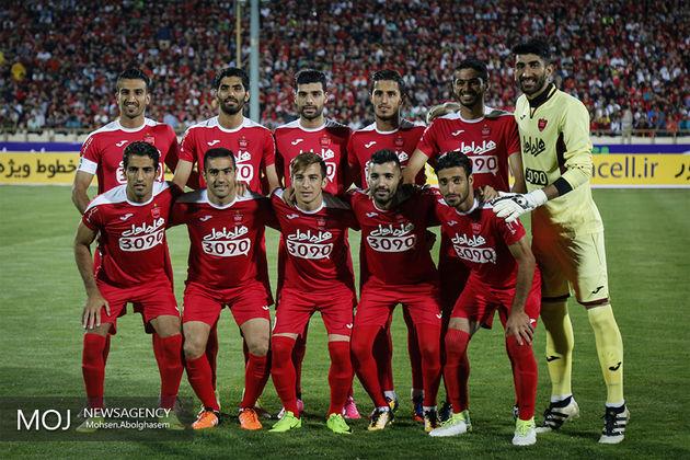 پرسپولیس در صدر تیمهای ایرانی، رئال مادرید بهترین تیم جهان