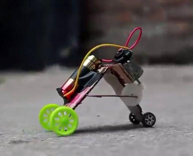 ساخت ربات خزنده برای تصویربرداری از داخل بدن +