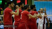 گزارش بازی والیبال ایران و هند/ ایران 3 هند 0