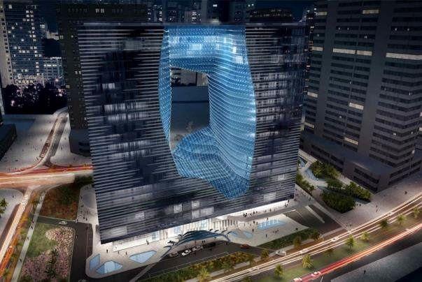 برج تو خالی دبی افتتاح می شود