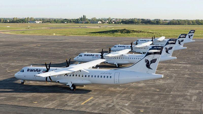 پنج فروند هواپیمای ATR  وارد کشور شدند