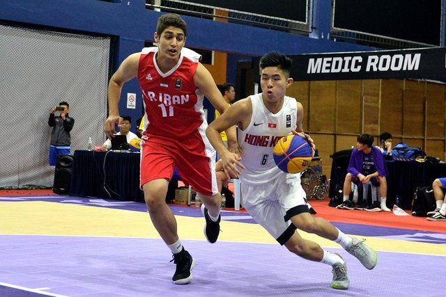 تیم ملی بسکتبال سه نفره ایران از قهرمانی آسیا حذف شد