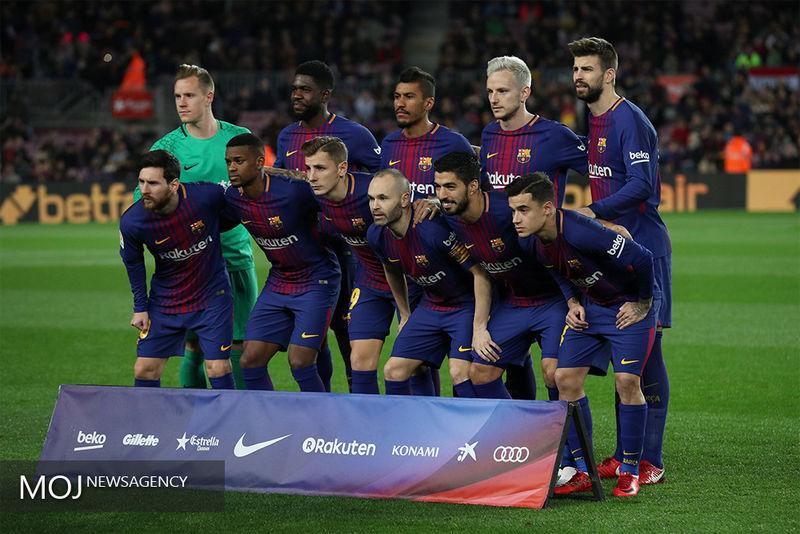 ساعت بازی برگشت المپیک لیون و بارسلونا مشخص شد