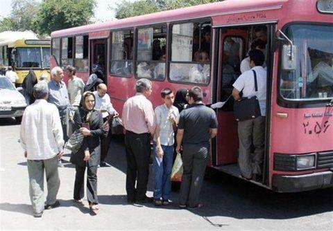 نرخ کرایه اتوبوس ها و تاکسی های کرایه یزد افزایش یافت