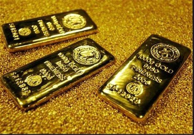 قیمت جهانی طلا به پایین ترین رقم در یک هفته گذشته رسید