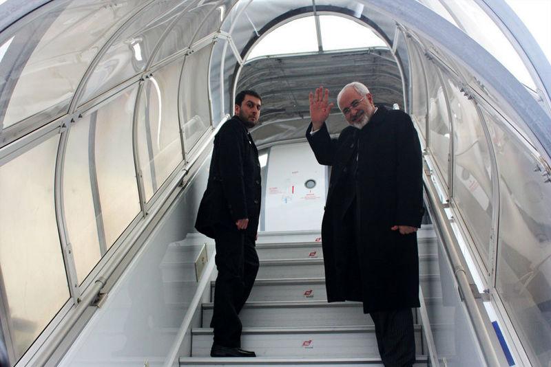 ظریف تهران را به مقصد کویت ترک کرد