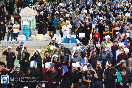 احیای شب بیست و سوم ماه مبارک رمضان در حرم مطهر رضوی