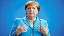 Merkel's reaction to the resignation of Germany's defense minister