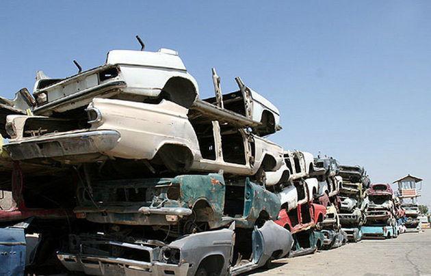 اسقاط یک میلیون و 900 هزار خودرو فرسوده