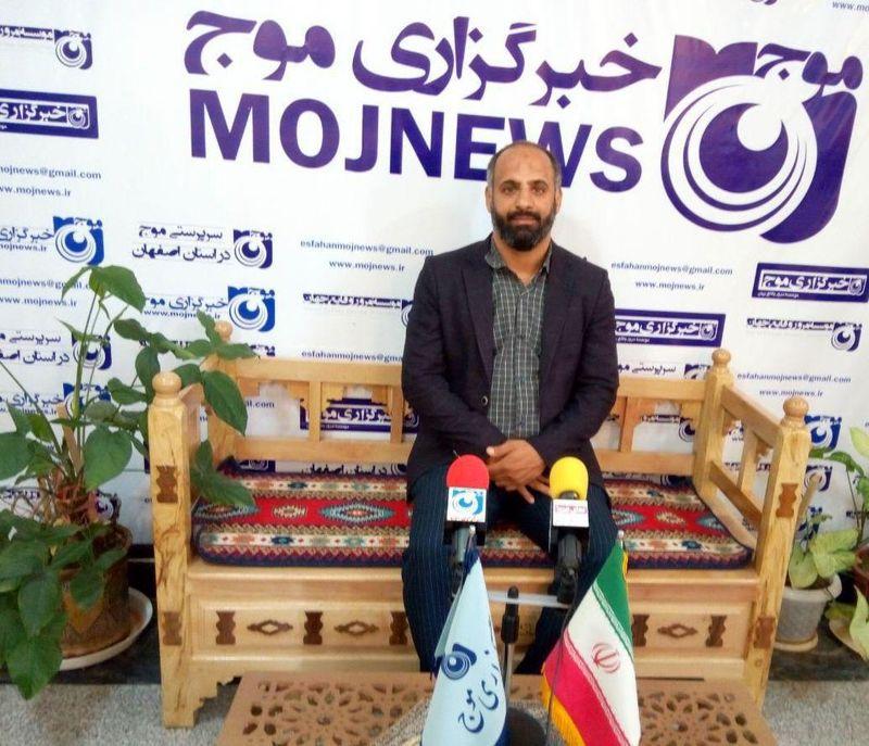 از تمام ظرفیت ها  برای اعتلای هیات انجمن های ورزشی اصفهان استفاده می کنم