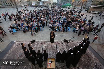 جشن عید غدیر در میدان امام حسین