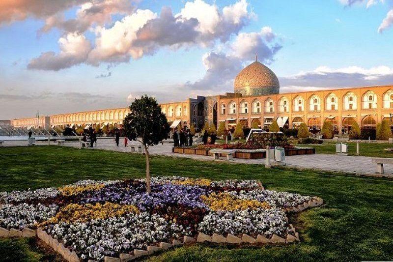 هوای اصفهان سالم است / شاخص کیفی هوا 66