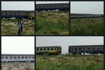 حادثه برای  قطار خرمشهر - تهران