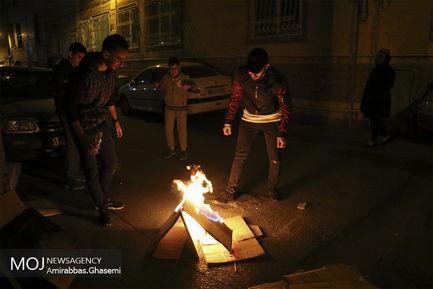 جشن چهارشنبه آخر سال در تهران