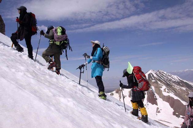 بانوان کوهنورد مازندران برون مرزی شدند