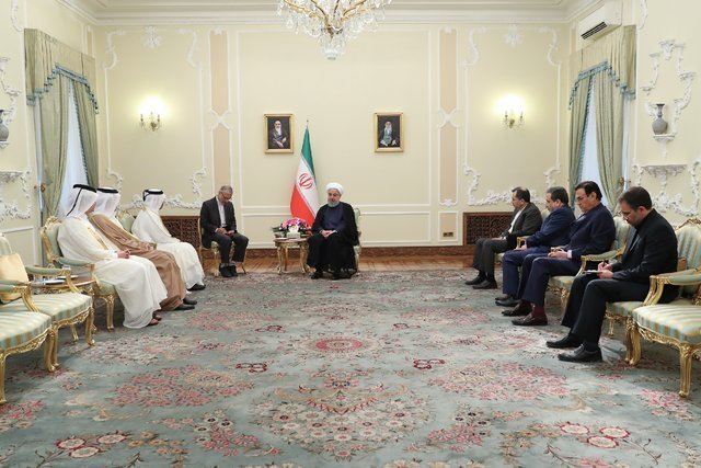 تهران خواهان امنیت و آرامش کامل در منطقه حساس و آبراه مهم خلیج فارس میباشد