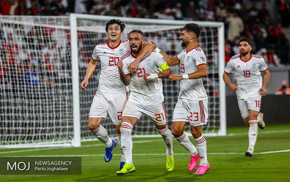 دیدار تیمهای ملی فوتبال ایران و عمان