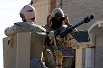 نیروهای امنیتی مصر  14 شبه نظامی را در سینا کشتند