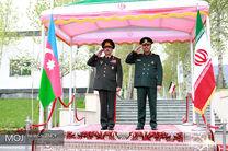 استقبال رسمی وزیر دفاع ایران از وزیر دفاع کشور آذربایجان