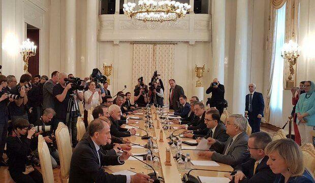 مذاکرات دو جانبه ظریف و لاوروف برگزار شد