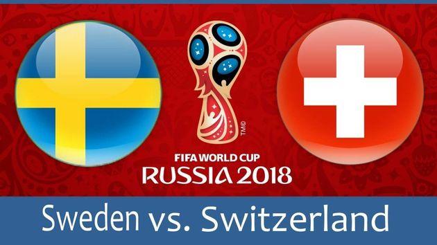 ساعت بازی سوئد و سوئیس در مرحله یک هشتم نهایی جام جهانی