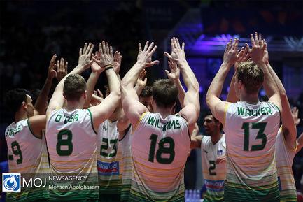 دیدار تیم های ملی والیبال استرالیا و پرتغال