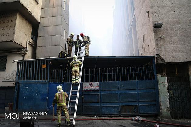 علت آتشسوزی ساختمان برق وزارت نیرو