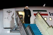 حسن روحانی ایروان را به مقصد تهران ترک کرد