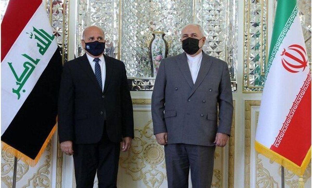 وزیران امور خارجه ایران و عراق دیدار و رایزنی کردند
