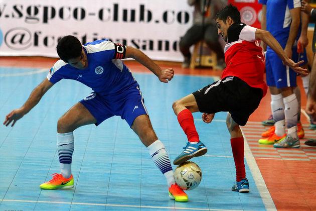 تیم سفیر آمل در لیگ فوتسال کشور ماندنی شد