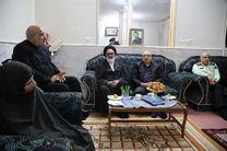 دیدار مسئولان استان با خانواده شهید و جانباز مبارزه با مواد مخدر استان قم