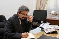 سخنگوی وزارت خارجه از وقوع زلزله در ایتالیا ابراز تاسف کرد