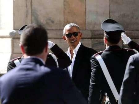 بارک اوباما در میان تدابیر شدید امنیتی وارد ایتالیا شد