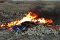 معدوم سازی حدود یک تن مرغ منجمد غیر بهداشتی در خرمشهر