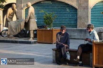 طولانی_ترین+سفره+افطار+ساده+در+بازار+تهران (1)
