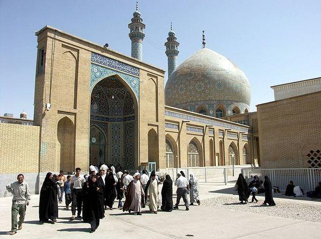مسجد اعظم به همت اداره کل میراث فرهنگی قم مرمت شد